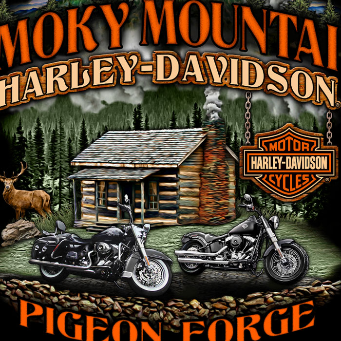 Harley-Devidson Apparel Design